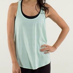 lululemon athletica Tops - Lululemon Scalloped Mint Singlet 8